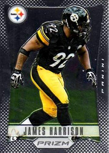 2012 Panini Prizm #151 James Harrison Steelers NFL Football Card NM-MT