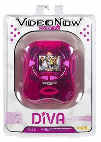 Videonow FX Player Diva Pink by Hasbro (Image #1)