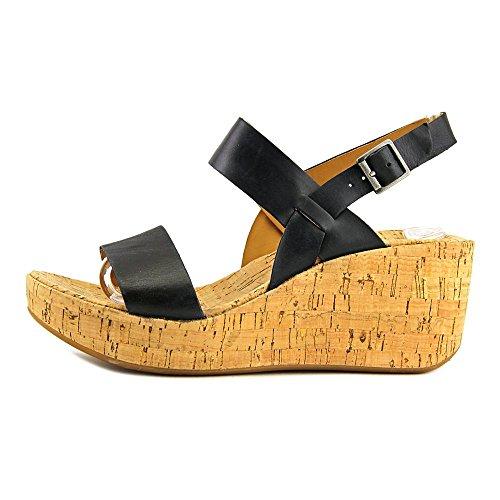 Korks Tome Women Us 7 Zwarte Sleehak Sandaal