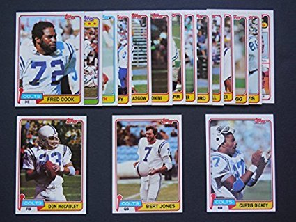 baltimore-colts-1981-topps-football-team-set-16-different-rookies-stars-hofers