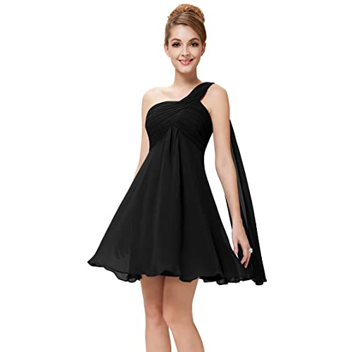 Ever Pretty Womens Sleeveless Short Chiffon Bridesmaids Dress 03537