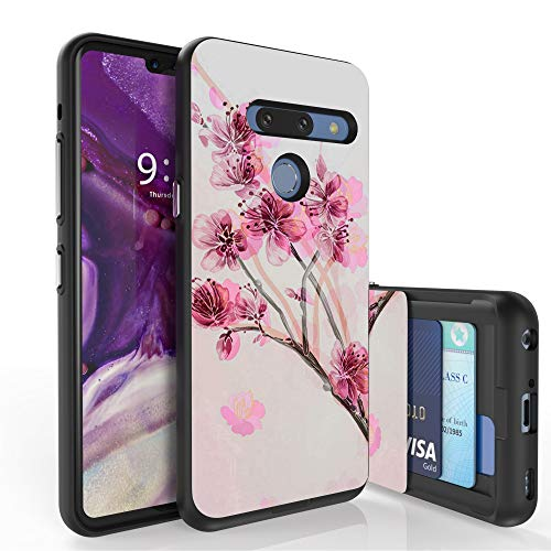 Beyond Cell Slim Dual Layer Wallet Case for LG G8 ThinQ/820 (6.1