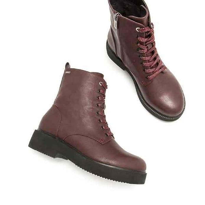 Zapatos Complementos Amazon Y Mujer es Bota Militar 57873 Mustang OqpaT