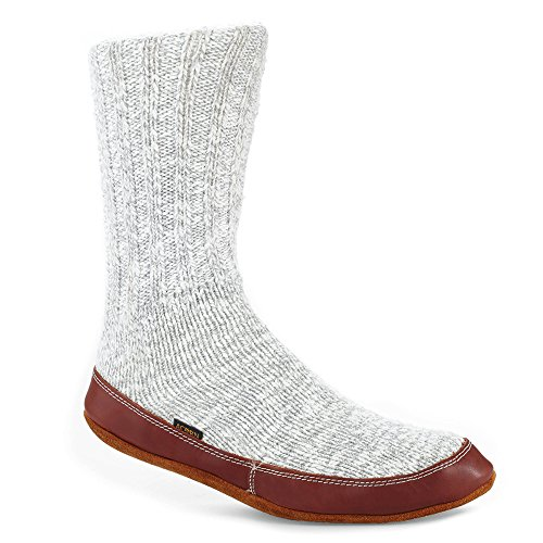 Acorn Unisex Slipper Socks Light Grey Cotton Twist XXS & Oxy Cleaner Bundle