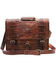 Handmade_world Leather Messenger Bags For Men Women Mens Briefcase Laptop Bag Best Computer Shoulder Satchel School...