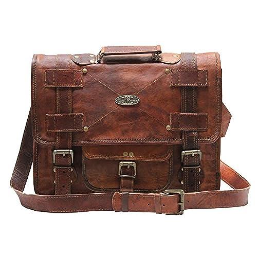 ... shoulder satchel school distressed bag. 80%OFF Handmade World leather  messenger bags for men women mens briefcase laptop bag best computer e6c40b849f4d6