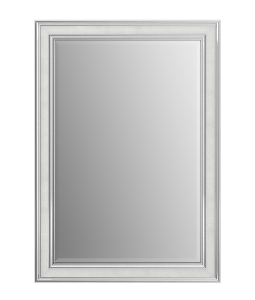 Delta Wall Mount 29 in. x 41 in. Medium (M3) Rectangular Framed Flush Mounting Bathroom Mirror in Vintage Nickel with TRUClarity Deluxe Glass Delta Faucet AFMRM3-NDH-R