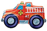 "Fire Trucks Jumbo 33"" Foil Balloon"