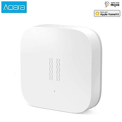xiaomi mijia aqara vibration sensor Built In Gyro Motion sensor ZigBee  Shock Sensor for Smart Home Security Safety Work with Mijia and Apple  HomeKit
