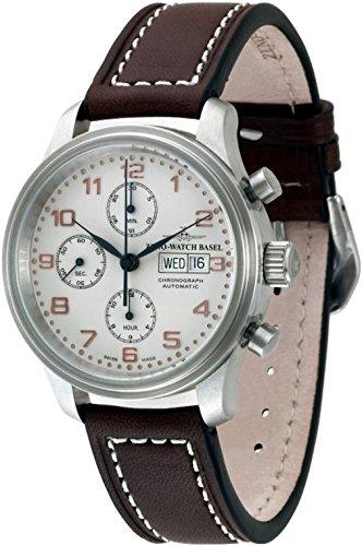 Zeno-Watch Mens Watch - NC Retro Chronograph Day-Date - 9557TVDD-f2