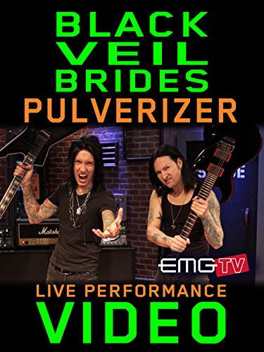 Blackguardly Veil Brides - Pulverizer - EMGtv Live Performance