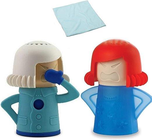 Amazon.com: Angry Mama - Limpiador para microondas y nevera ...
