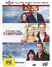 Hallmark Christmas 3 Film Collection (Cross Country Christmas / If I Only Had Christmas / Christmas in Montana)