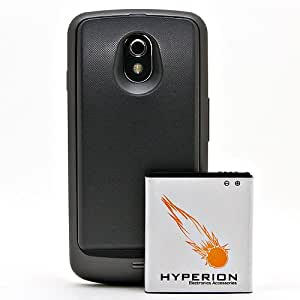 Hyperion Verizon Samsung Galaxy Nexus 3800mAh Extended Battery + Back Cover (Compatible ONLY with Verizon Samsung Galaxy Nexus SCH-i515) **NOW WITH NFC CAPABILITIES**