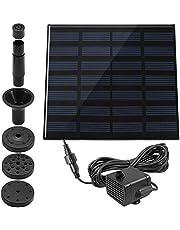1,4 W vogelbadfontein, max. solar power-pomppaneel, kit dompelpomp, waterpomp voor vistank, kleine vijver, vogelbad, tuindecoratie.