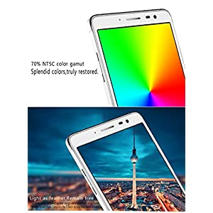 "Unlocked Cell Phones, 5.5"" Big screen 3G Android Smartphones Quad Core Compatible for AT&T T-Mobile Straight talk GSM Sim"