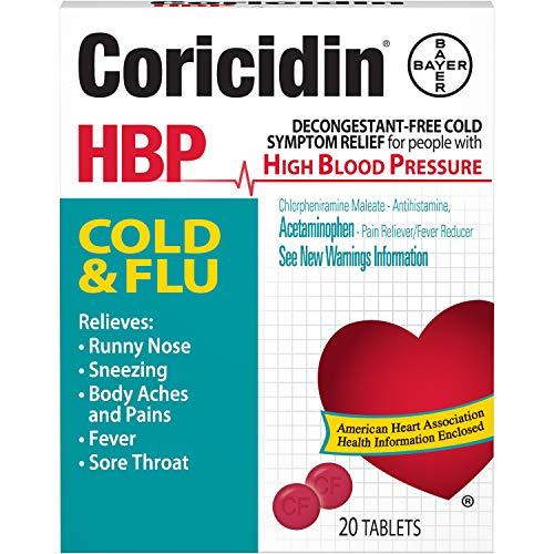 Coricidin HBP Decongestant-Free Cold