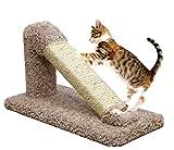 USA Made Cat Scratching Post Sisal in Brown Incline Cat Furniture Scratcher Kitten Review