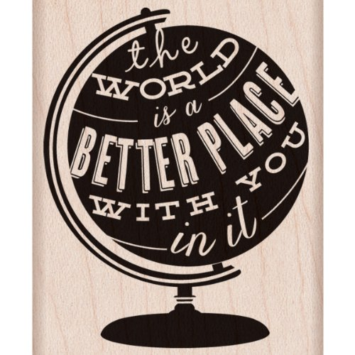 Hero Arts Better Place Woodblock Stamp by Hero Arts