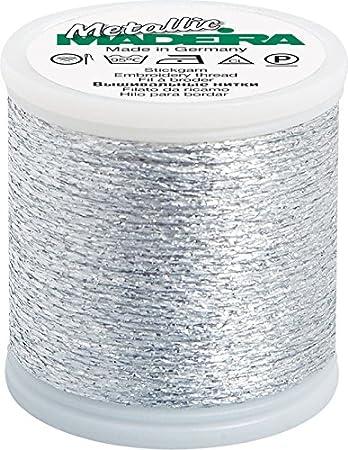 Madeira Metallic No 20-50 m Fb 2042 silber