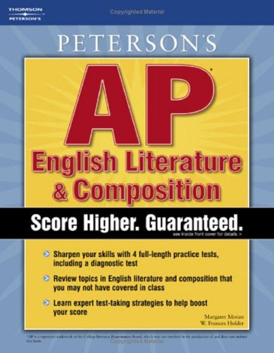 Peterson's AP English Literature & Composition (Master the AP English Literature & Composition Test)