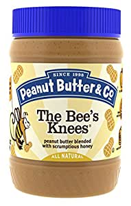 Peanut Butter & Co. Peanut Butter, Gluten Free, The Bee's Knees (Honey), 16 Ounce Jars (Pack of 6)