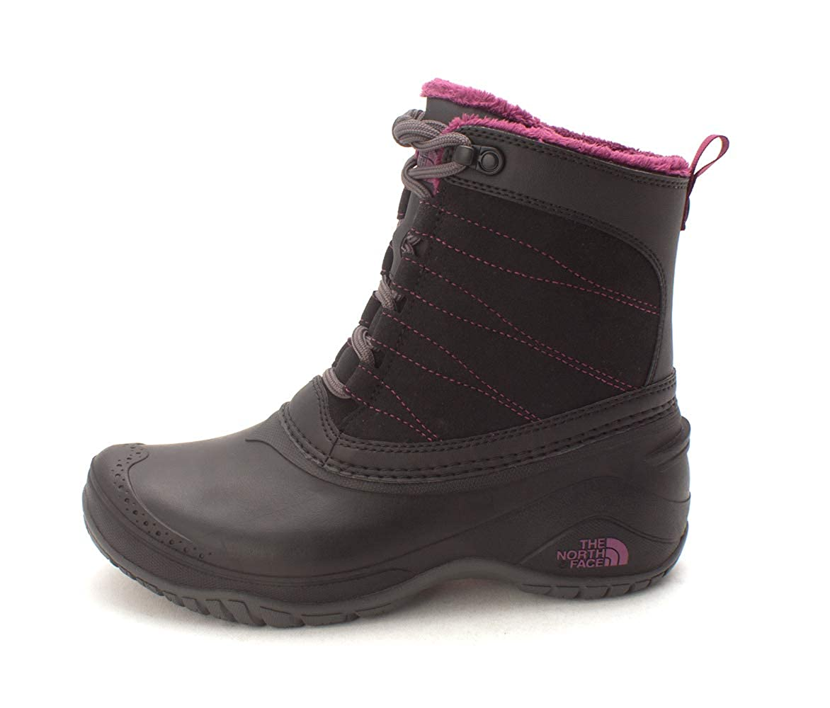 Black Amaranth Purple THE NORTH FACE Womens Stormkat Closed Toe Ankle Cold Weather Boots