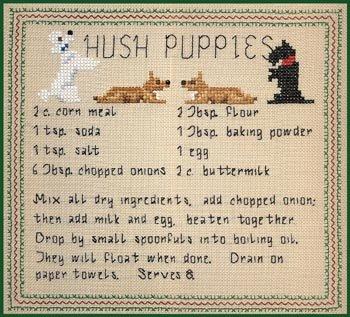 Sampler Border (Pegasus Originals Hush Puppies Sampler)
