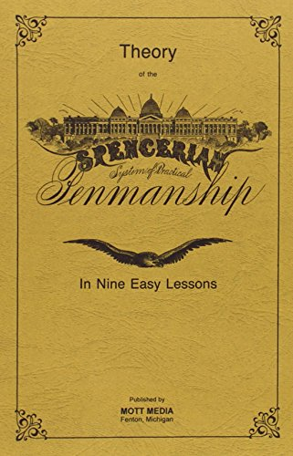 Spencerian Penmanship Theory Book plus five copybooks