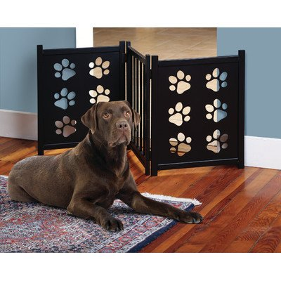 UPC 084358046033, Etna Pet Gate with Paw Cutouts
