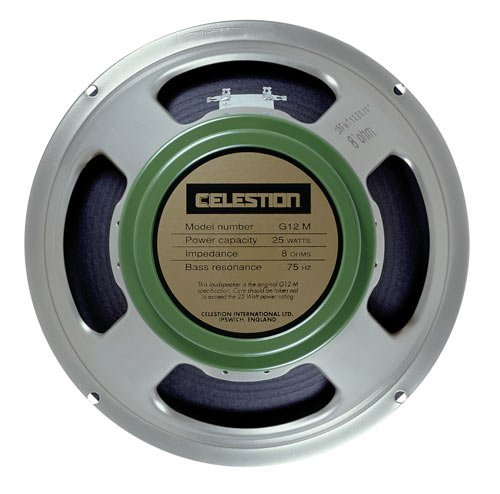 Celestion G12M Greenback Guitar Speaker, 16 Ohm by CELESTION