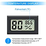 Mini Hygrometer, 2PCS Upgraded Mini Digital