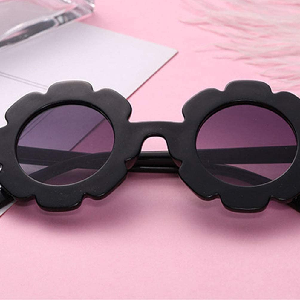 TENDYCOCO Sunglasses for Girls UV Protection Glasses Cute Party Glasses Flower Shaped Sunglasses for Kids 2Pcs//Pack