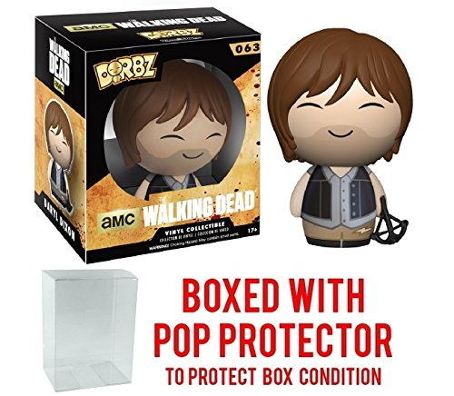 Funko Dorbz: Walking Dead - Daryl Dixon Vinyl Figure (Bundled with Pop BOX PROTECTOR CASE) - Bobble Head Jesus