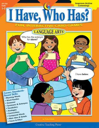 (I Have, Who Has Language Arts Gr. 1-2)