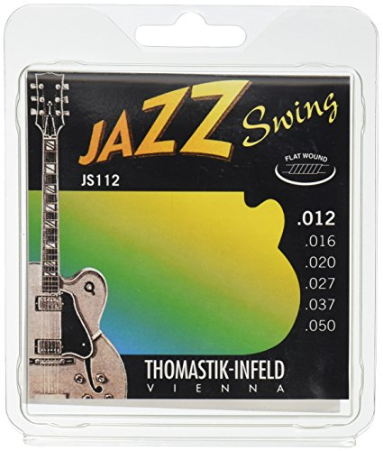 Thomastik JS112 Set Med-Lite Jazz Swing Flat Guitar - Swing Electric Guitar