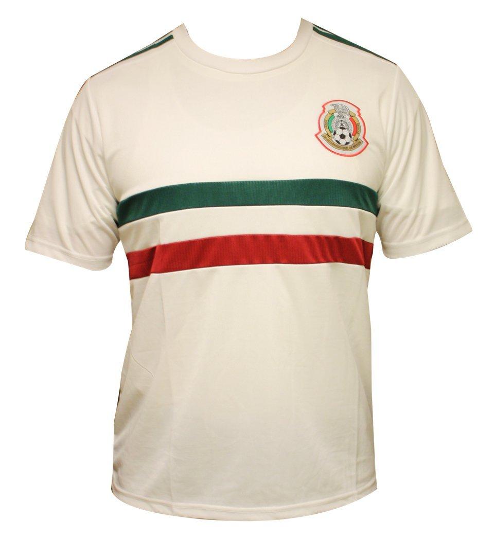 新しい。メキシコ国立チームロシア2018ホワイトジャージXLサイズ B07C6MF5J8