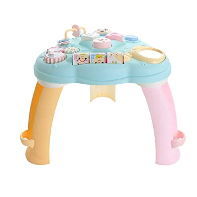 Fineday Baby Toys Musical Learning Table Early Education Activity Center Multiple Modes, Baby & Toddler Toys (Multicolor), Shipping from The United States: Garden & Outdoor