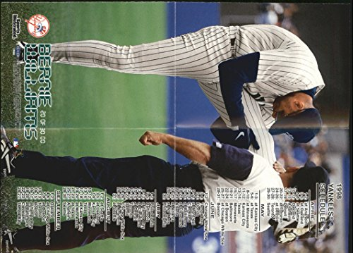 Opening Day Poster (1998 Sports Illustrated Opening Day Mini Posters #OD20 Bernie Williams - NM-MT)