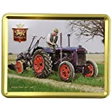 Stewarts Fordson Tractor and Plough Shortbread Biscuit Tin 400 g