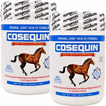2 Pack Cosequin Equine Powder Concentrate 2800 gm
