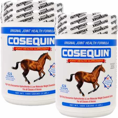 2 PACK Cosequin EQUINE Powder Concentrate (2800 gm)