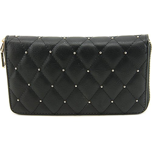 Urban Expressions Parker Wallet Donna Nero