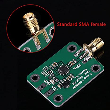 ad8318 RF Detector de logarítmica RSSI medición medidor de potencia 1 - 8000 MHz 70dB: Amazon.es: Amazon.es