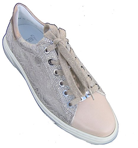 ara Womens L.Low Shoes Nature/Chiara/Platin Size 38.5 M EU/5.5 F(M) UK/8 B(M) US