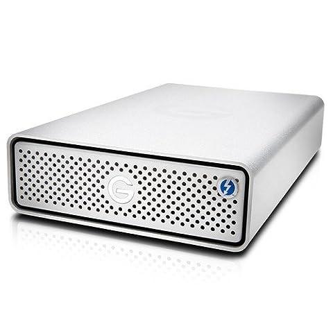 G-Technology G-Drive with Thunderbolt 3 4TB Desktop Hard Drive TB3/USB-C (External Hard Drive 180)