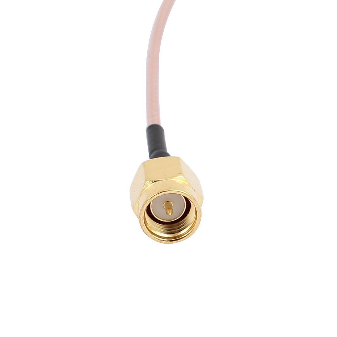 Amazon.com: eDealMax 5 piezas de oro SMA Macho a RP-SMA hembra adaptador de conector RG178 Cable coaxial f televisión por satélite 10cm: Electronics