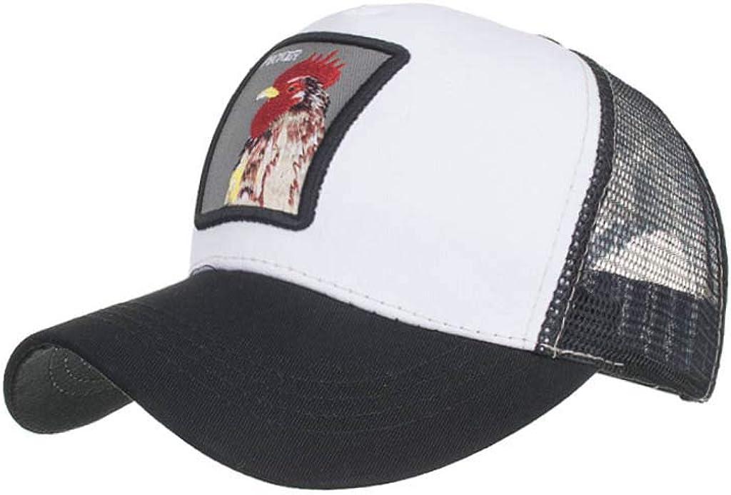 LOPILY Sombrero de Mujer y Hombre Moda Animales Bordado Gorras de ...