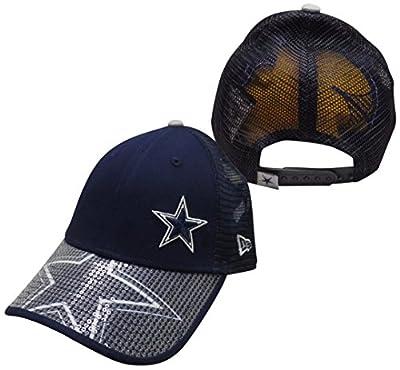 Dallas Cowboys Womens Sequin Savvy 9FORTY Adjustable Snapback Hat / Cap by Dallas Cowboys Merchandise