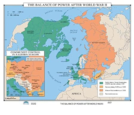 Universal map 30170 057 the balance of power after world war ii universal map 30170 057 the balance of power after world war ii gumiabroncs Gallery